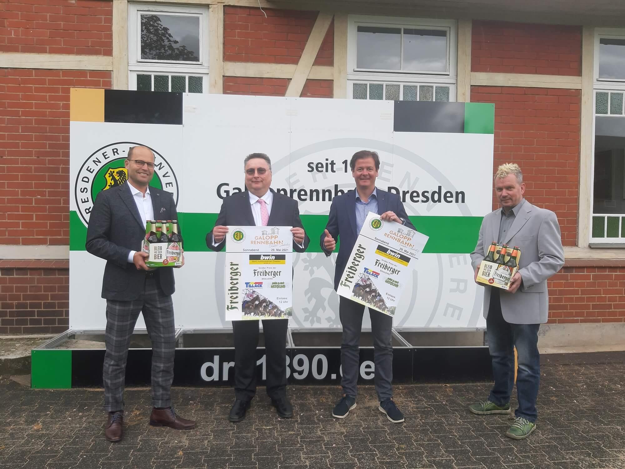 Volle Starterfelder beim Freiberger Renntag mit bwin BBAG Auktionsrennen und Dresdens größtem Biergarten