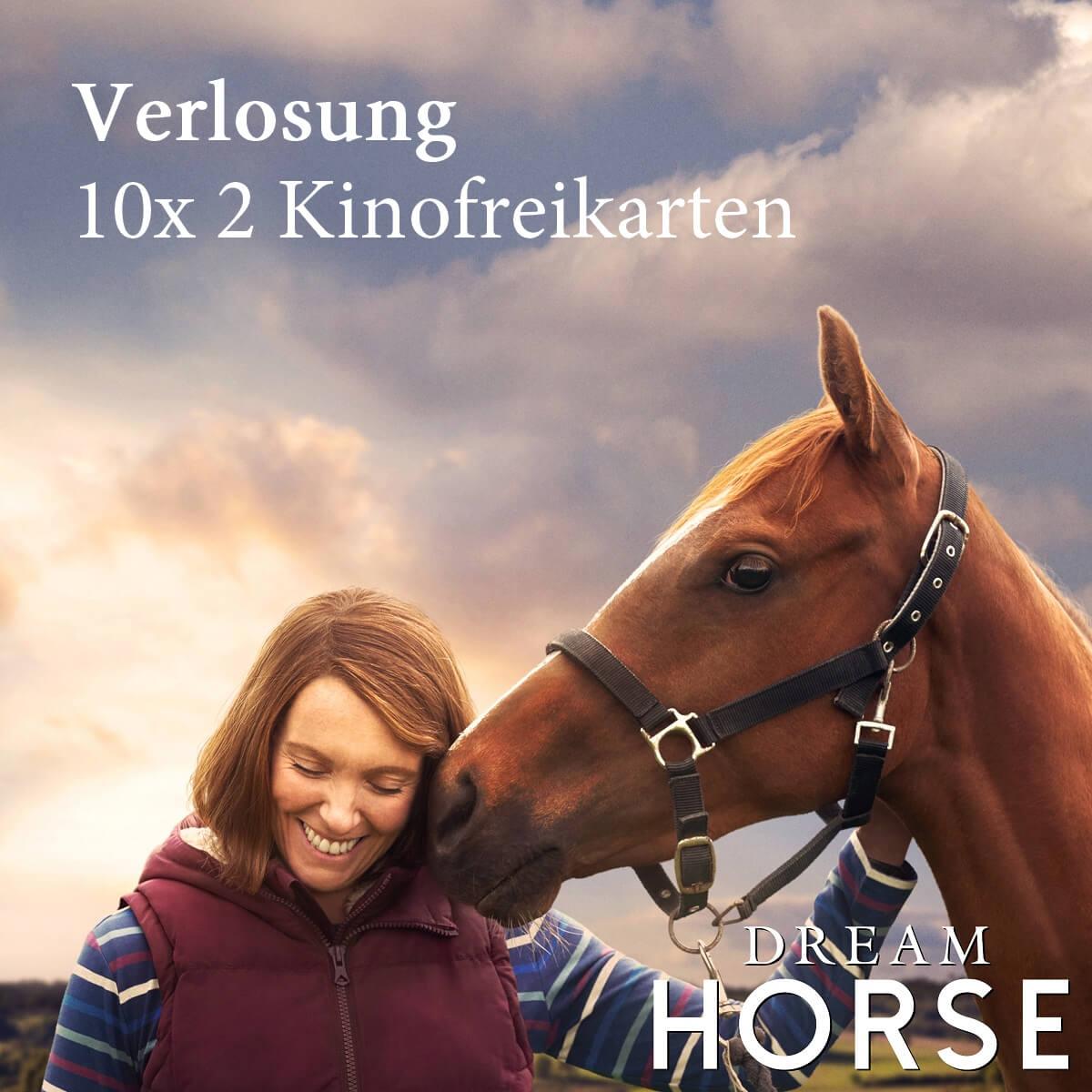 """Kinogutscheine für """"Dream Horse"""" gewinnen"""